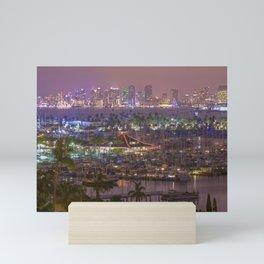 San Diego Skyline seen from Point Loma Mini Art Print