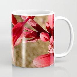 Firecracker Red Flower Blooms Coffee Mug