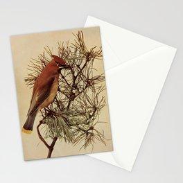 Neltje Blanchan - Bird Neighbours (1903) - Cedar Waxwing Stationery Cards