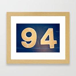 94 Mercer Framed Art Print