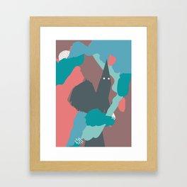 A colorful fairy tale no.1 Framed Art Print