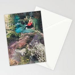 The Red Shirt (Gardentopia)  Stationery Cards