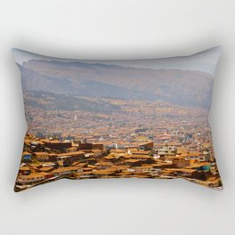 Above Cusco Rectangular Pillow