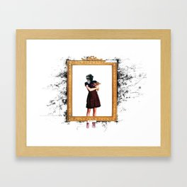 Arty Shit Framed Art Print