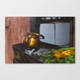 Marrakech Kettle Canvas Print