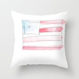 FLHAG Throw Pillow