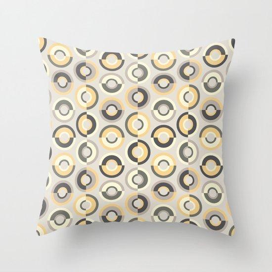 Scandi Circles Throw Pillow