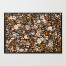 Baroque Macabre Canvas Print