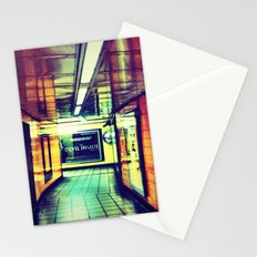 Though the corridor Stationery Cards
