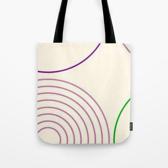 Motif circulaire Tote Bag