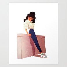 80's Style Art Print