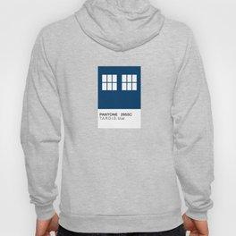TARDIS Blue Pantone Hoody