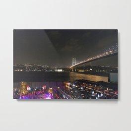 Istanbul Lights! Metal Print