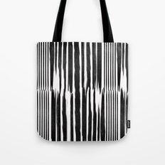 White Lines Tote Bag