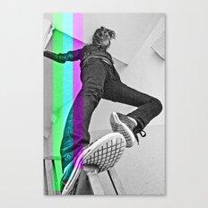 Human abstract Canvas Print