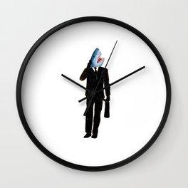 Shark Man Wall Clock