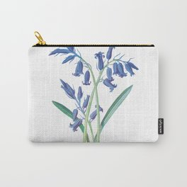 Blue Lily of the Valley Artwork Painting Carry-All Pouch