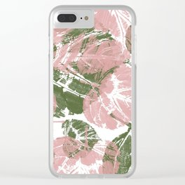 Leaves IV Clear iPhone Case