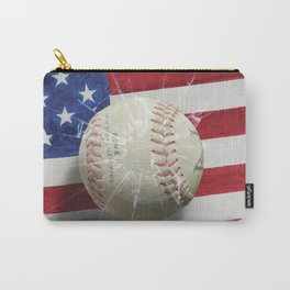 Baseball - New York, New York Carry-All Pouch