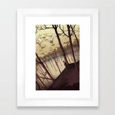 Our Stillness Framed Art Print