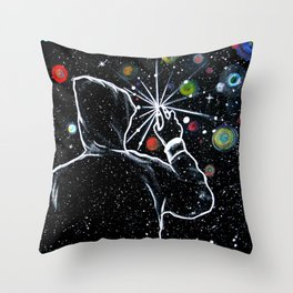 Write Universe -Galaxy Throw Pillow