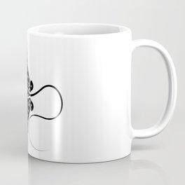 Dotted Stingray Coffee Mug