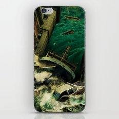 No God's Gonna Save You Now iPhone & iPod Skin