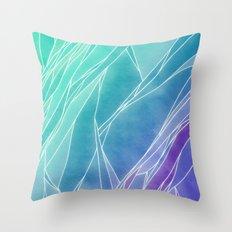 FLUORITE Throw Pillow