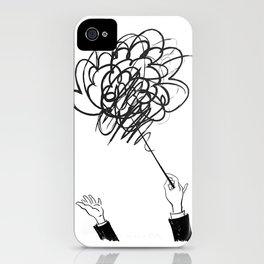 downbeat??  find my beat! iPhone Case