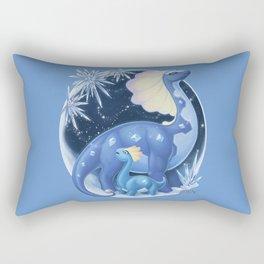 Amaura and Aurorus: Childlike Enthusiasm Rectangular Pillow