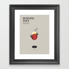 Elvis Love Framed Art Print