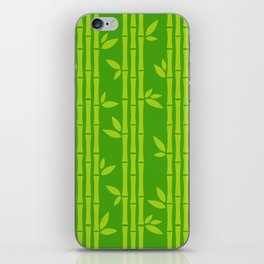 Evergreen Chinese Bamboos iPhone Skin