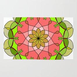 Vintage decorative mandala elements Rug