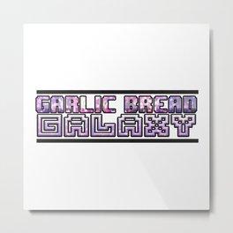 Garlic Bread Galaxy Metal Print