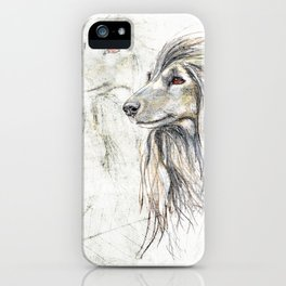Afghan Hound iPhone Case