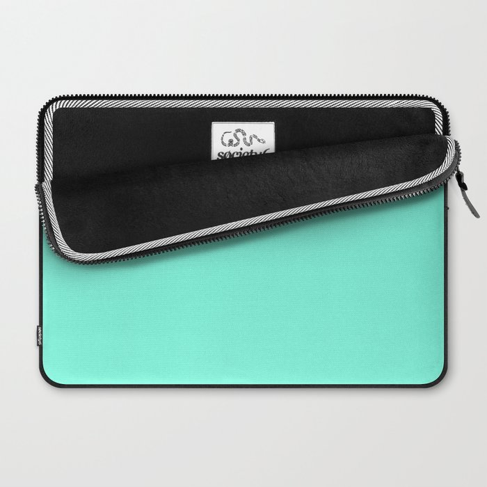 Green Mint Laptop Sleeve