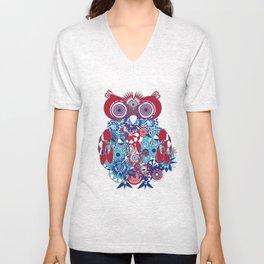 SPIRO OWL Unisex V-Neck
