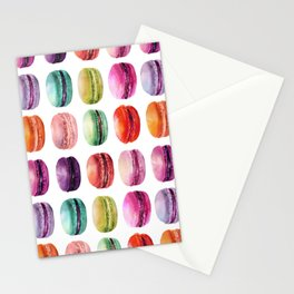 macaron lollipops Stationery Cards