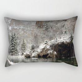 Hanging Lake, White River National Forest CO Rectangular Pillow