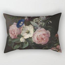 Flower Vase, Jan Brueghel the Elder Rectangular Pillow