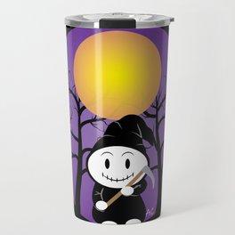 Kid in a Grim Costume Travel Mug