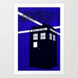 Doctor Wood Art Print