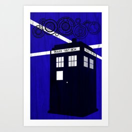 Doctor Wood Art Print