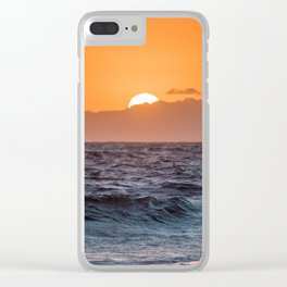 Element: Water (005) Clear iPhone Case