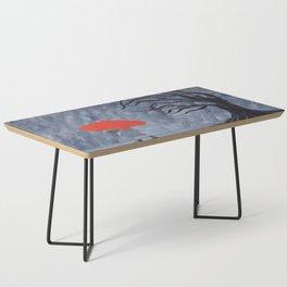 Orange Umbrella Coffee Table