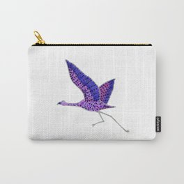 Violet Taking Off Carry-All Pouch