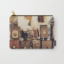 Old Cameras (Vintage and Retro Film Cameras Collection) Carry-All Pouch