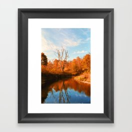 Boone Fork Creek Framed Art Print