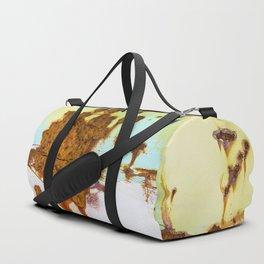 Rusting Panels Duffle Bag