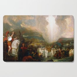 Benjamin West Joshua passing the River Jordan with the Ark of the Covenant Cutting Board
